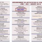 AVLYST: basar på Grøtavær 6. juli 2019