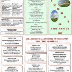 Arrangement og aktiviteter på Ytre Grytøy juni - juli - august 2017